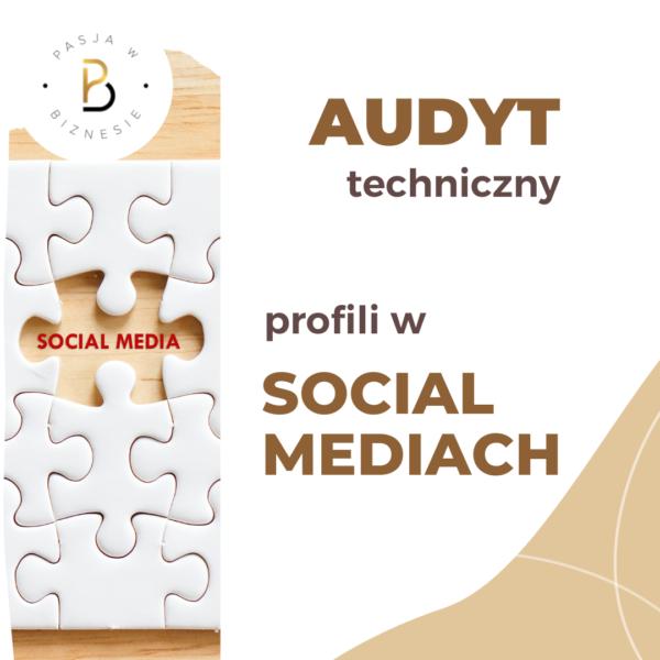 audyt profili w social mediach
